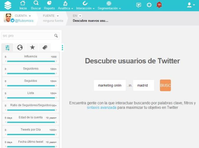 Ganar seguidores en twitter con SocialBro