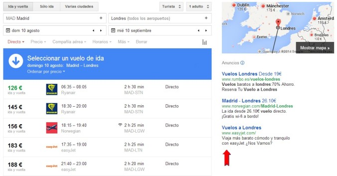 Google Flights marketingymedia