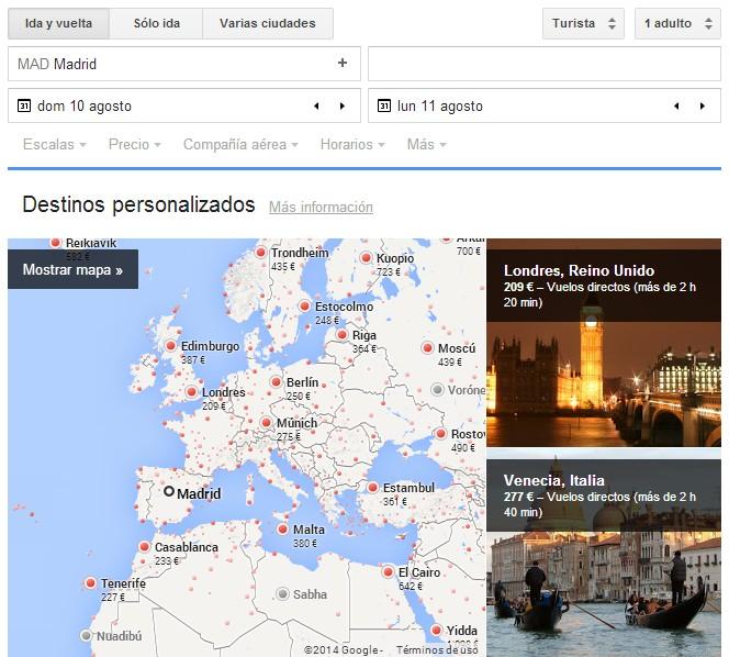 Qué es google flights